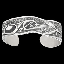 "Hummingbird Cuff Bracelet ""Nectar of Life""| Nature Jewelry"