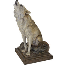 """Wolf Sculpture """"Call of the Wild"""""""
