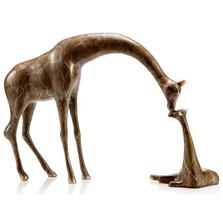 "Giraffe Sculpture ""Loving Parent and Child"" | 80305"
