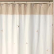 Dragonfly Shower Curtain & Hooks Set