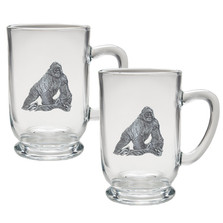 Gorilla Coffee Mug Set of 2