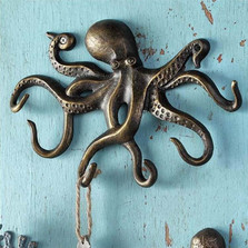 Swimming Octopus Key Hook | 34061