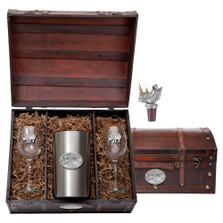 Rhino Wine Chest Set