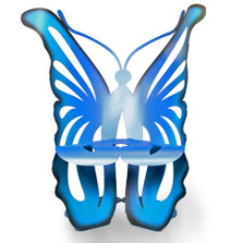 Butterfly Outdoor Rocking Chair