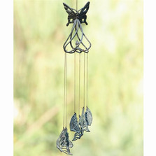 Stylized Butterfly Wind Chime | 50476