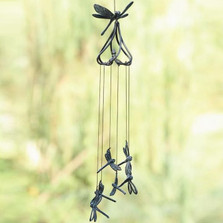 Stylized Dragonfly Wind Chime | 50477
