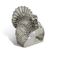 Turkey Napkin Ring Set of Four