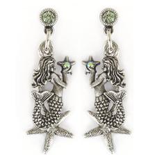 Mermaid Starfish Earrings | Nature Jewelry