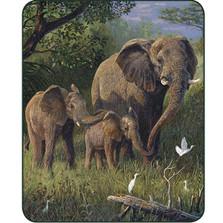 Elephant Polyester Blanket