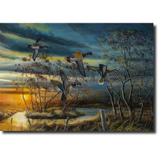 "Duck Print ""Autumn Splendor"""