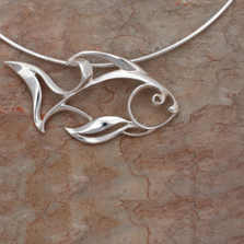 Angelfish Pendant Necklace | Roland St. John Jewelry
