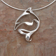 Dolphin Pendant Necklace | Roland St. John Jewelry