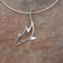 Reef Shark Pendant Necklace | Roland St. John Jewelry