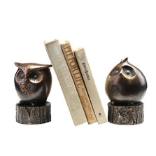 Wide-Eyed Owl Bookends | 50692