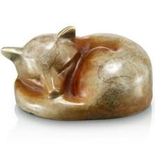 Fox Snuggling Sculpture | 80219