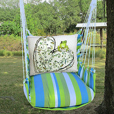 Frog and Heart Hammock Chair Swing