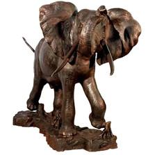 Elephant Bronze Outdoor Statue