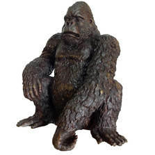 Gorilla Bronze Outdoor Statue