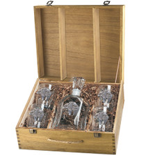 Bear Tribal Capitol Decanter Boxed Set