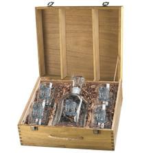 Tiger Capitol Decanter Boxed Set