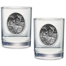 Caribou Double Old Fashioned Glass Set of 2
