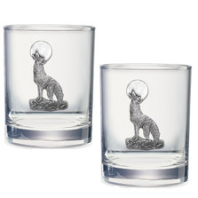 Coyote Double Old Fashioned Glass Set of 2