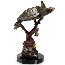 """Sea Turtle Sculpture """"Swimmer Supreme""""   80312"""