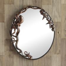 Octopus Oval Wall Mirror | 51009