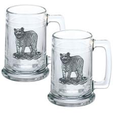 Tiger Beer Stein Set of 2