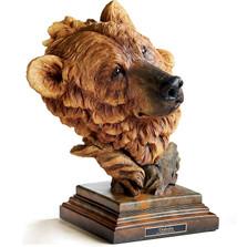 """Brown Bear Sculpture """"Timberline"""""""