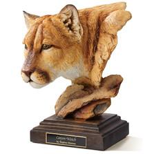"Cougar Sculpture ""Canyon Watch"""