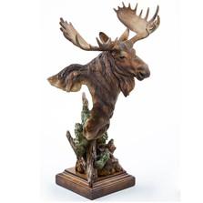 "Moose Sculpture ""Heavy Weight"""