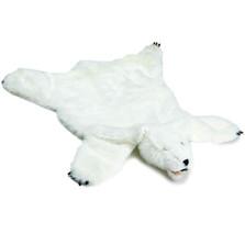 White Bear Large Plush Rug