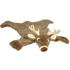 White Tail Deer Large Plush Rug