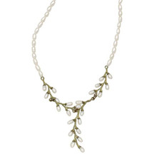 Rice Adjustable Y Pearl Necklace | Michael Michaud Jewelry | 9061BZWP