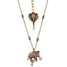 Elephant Charm Pendant Necklace  | Nature Jewelry