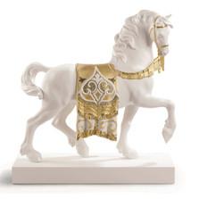 "Horse Porcelain Figurine ""A Regal Steed""   Lladro   1007186"