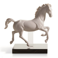 "Horse Porcelain Figurine ""Gallop III"" 
