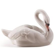 Elegant Swan Porcelain Figurine | Lladro | 1008271