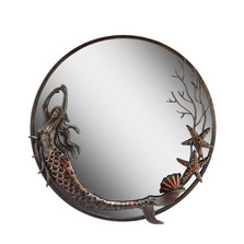 Mermaid Round Mirror | 50744