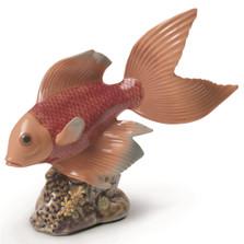 "Fish Porcelain Figurine ""Underwater Calm"""