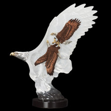 """Eagle Sculpture """"Leading the Way"""""""