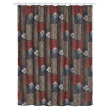 Borneo Floral Shower Curtain