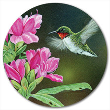 "Hummingbird Lazy Susan ""Opening Day Hummy"""