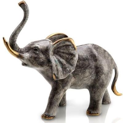 Bellowing Elephant Sculpture | 80246