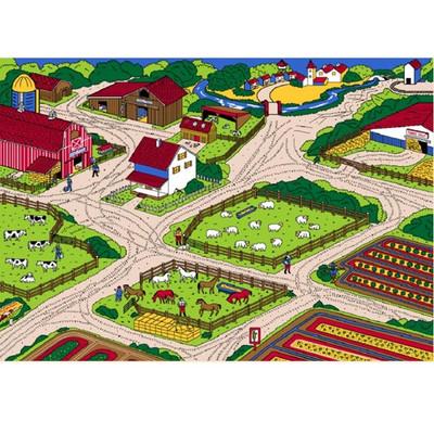 Farm Paradise Area Rug