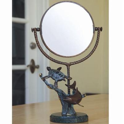 Dolphin & Turtle Vanity Mirror | BZ15877