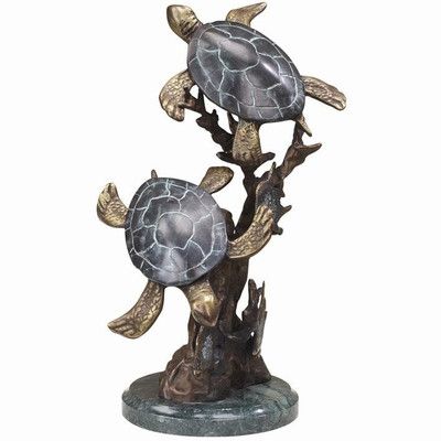 Sea Turtle Duet Small Sculpture | 30236