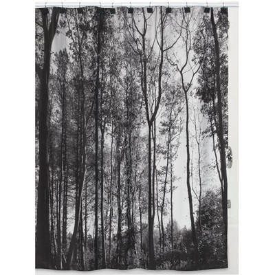 "Trees Shower Curtain ""Sylvan"""