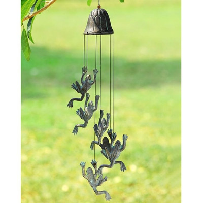 Frog Jumping Wind Chime | 50838